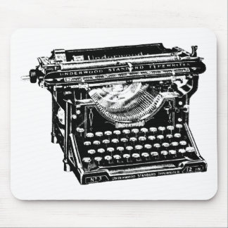 Underwood Typewriter Writer Mouse Pad