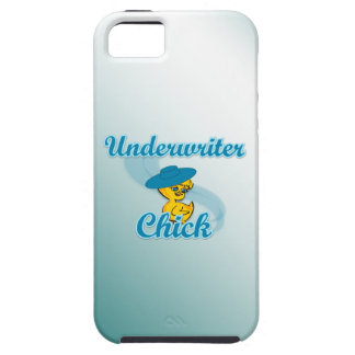 Underwriter Chick #3.png iPhone 5 Cover