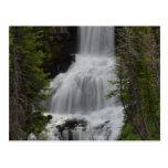 Undine Waterfalls Yellowstone Post Card