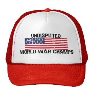UNDISPUTED WORLD WAR CHAMPS! CAP