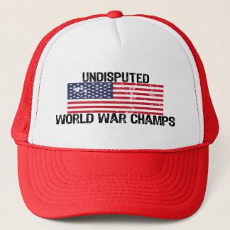 UNDISPUTED WORLD WAR CHAMPS! TRUCKER HAT