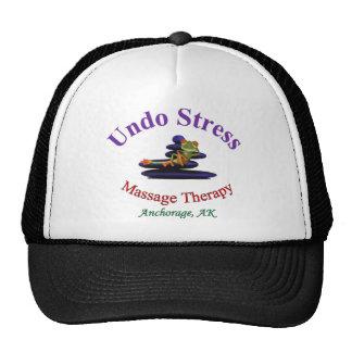 Undo Stress Alaska Logo Cap