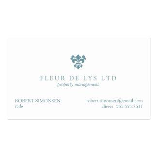 Une Fleur de Lis Business Cards