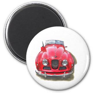 Une Jowett-Jupiter, voiture rare !!!! 6 Cm Round Magnet
