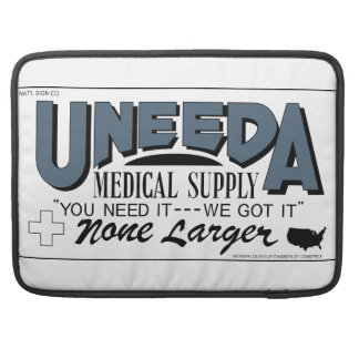 Uneeda Medical Supply (Return of the Living Dead) Sleeve For MacBooks