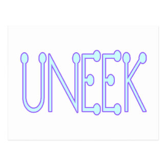 Uneek Unique Postcard