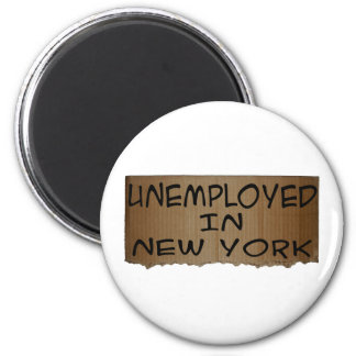 UNEMPLOYED IN NEW YORK MAGNET