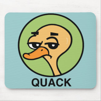 UNENTHUSED DUCK MOUSEPAD