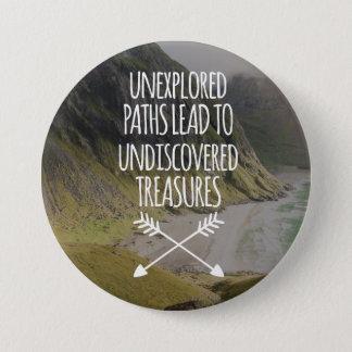 Unexplored Paths 7.5 Cm Round Badge