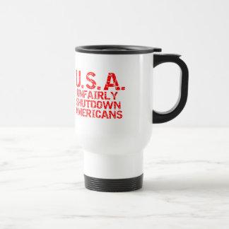 Unfairly  Shutdown Americans Mugs