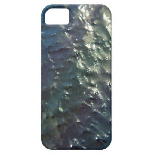 Unfinished Metal Metallic Skins iPhone 5 Case