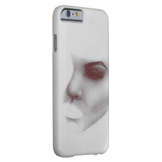 Unfinished modern pillow barely there iPhone 6 case