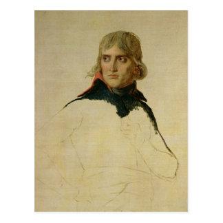 Unfinished portrait of General Bonaparte Postcard