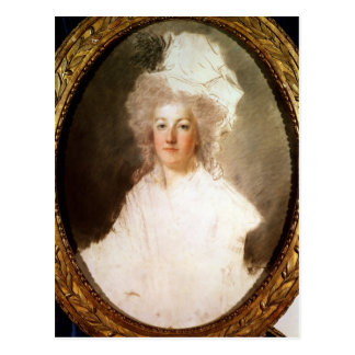 Unfinished portrait of Marie-Antoinette Postcard