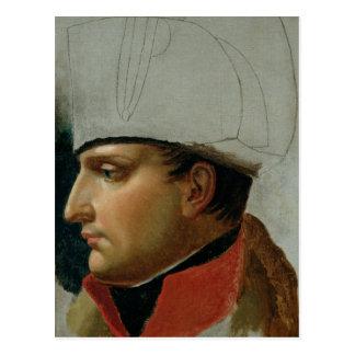 Unfinished Portrait of Napoleon I Postcard