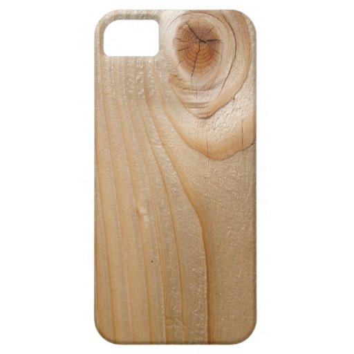 Unfinished Wood iPhone 5 Case