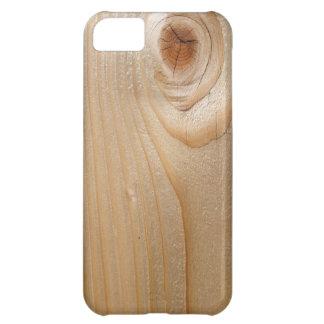 Unfinished Wood iPhone 5C Case