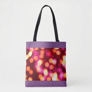Unfocused lights tote bag