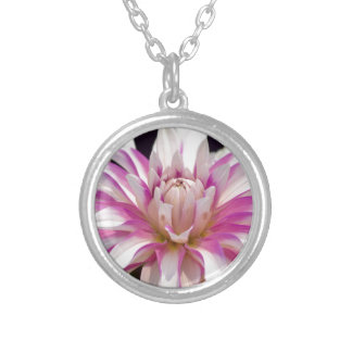 Unfolding Silver Plated Necklace