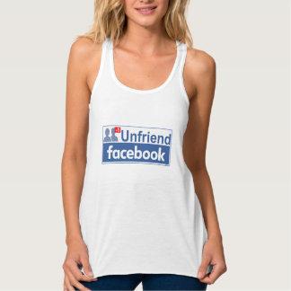 Unfriend Facebook Singlet