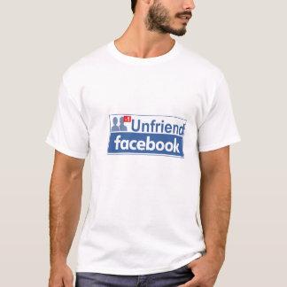 Unfriend Facebook T-Shirt