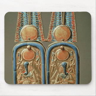 Unguent box in form of a double royal mouse pad