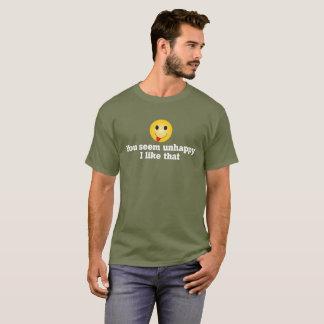 """""""Unhappy"""" T-Shirt"""