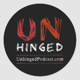 Unhinged Podcast Stickers