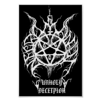 UNHOLY DECEPTION POSTER