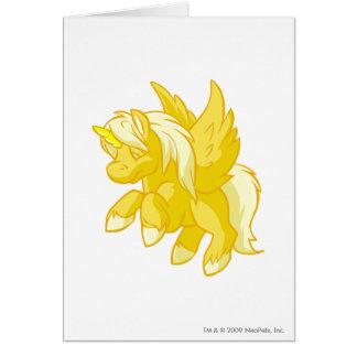 Uni Gold Greeting Card