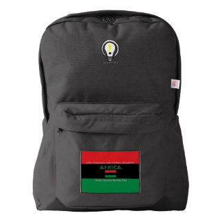 UNIA or Marcus Garvey, or New Afrikan Liberation Backpack
