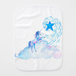 Unicorn 1 burp cloth