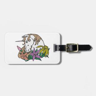 Unicorn 1 luggage tag