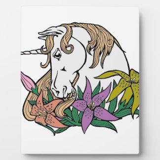 Unicorn 1 plaque