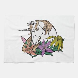 Unicorn 1 tea towel