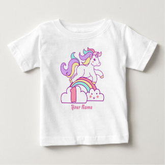 Unicorn 1st Birthday Baby T-Shirt