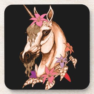 Unicorn 3 beverage coaster