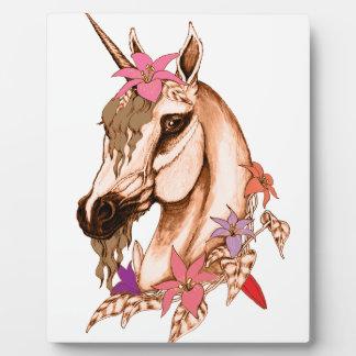 Unicorn 3 plaque