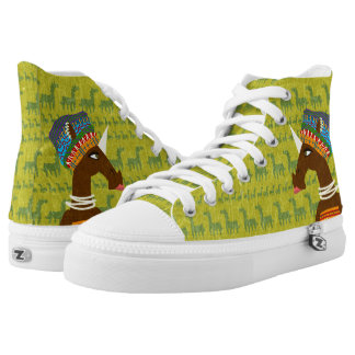 Unicorn African Queen Printed Shoes