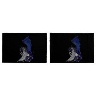 Unicorn and Dragon Pillowcase