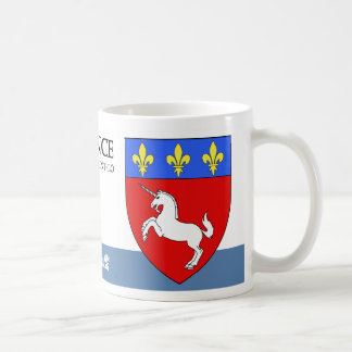 Unicorn and Fleur de Lis Medieval from France Coffee Mug