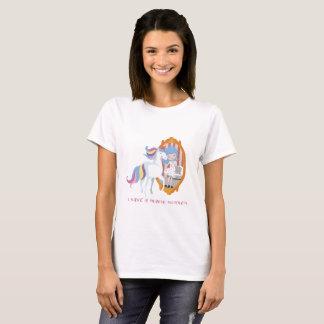 Unicorn and Girl, Mirror Beauty Transformation T T-Shirt