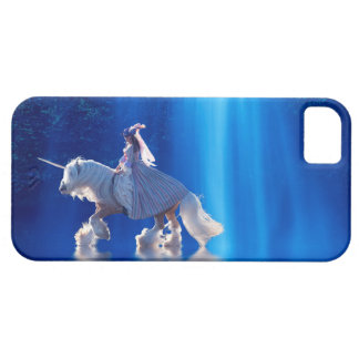 Unicorn and his mistress iPhone 5 cases