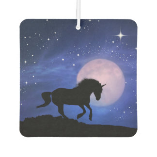 Unicorn and Moon Car Air Freshener