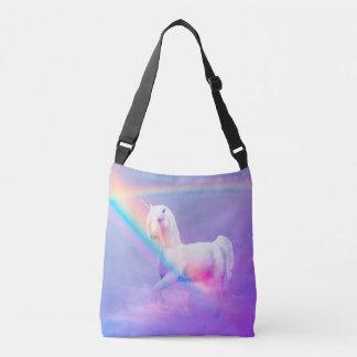 Unicorn and Rainbow Crossbody Bag