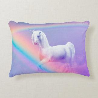 Unicorn and Rainbow Decorative Cushion