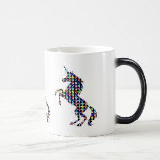 UNICORN animal fantasy dot kids  ARTISTIC GRAPHICS Magic Mug