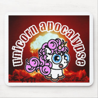 Unicorn Apocalypse Mouse Pad