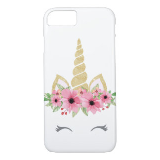Unicorn Apple iPhone 7, Barely There Phone Case