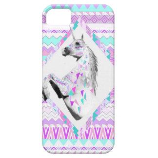 Unicorn aztec pattern iphone 5/5s case